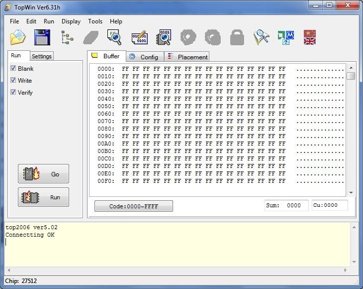 Minipro tl866 universal programmer software
