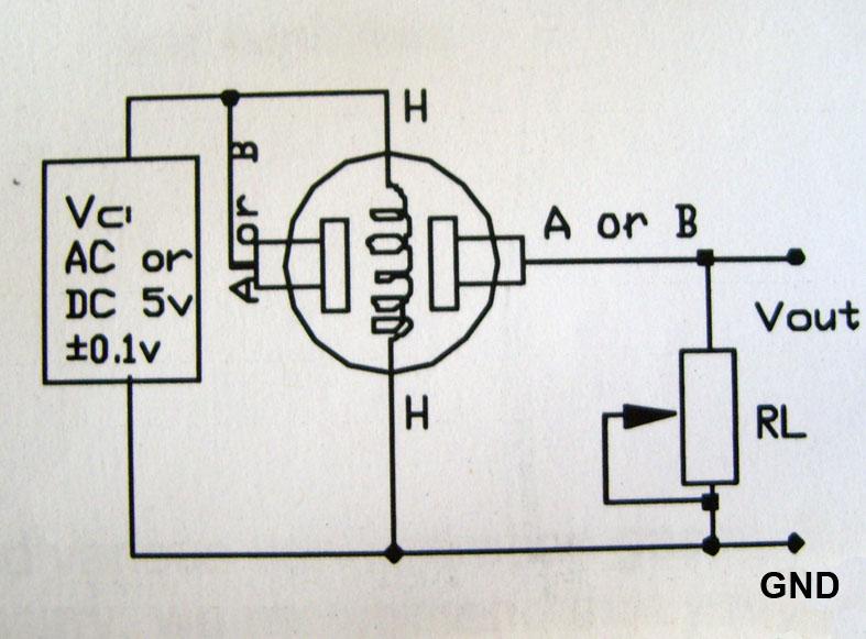 GAS Sensors–Connection Details | alselectro