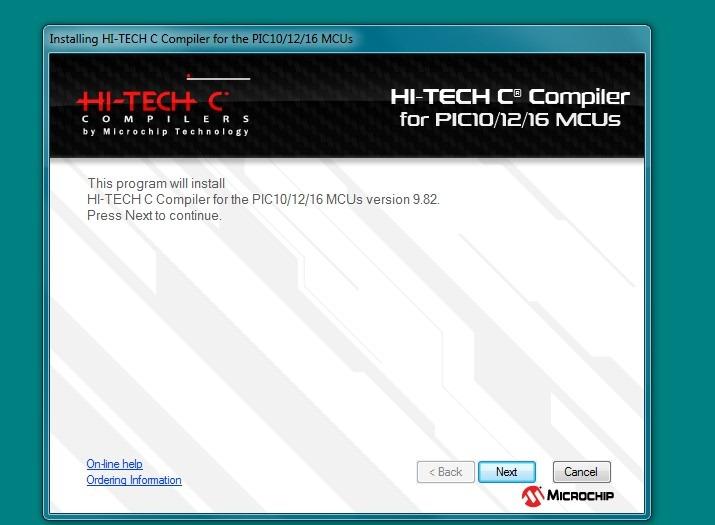 hi-tech c compiler for pic32 mcus