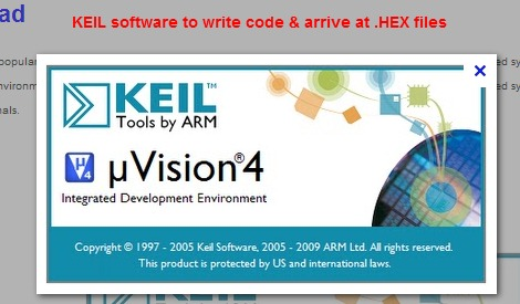 writing arm assembly code in keil software