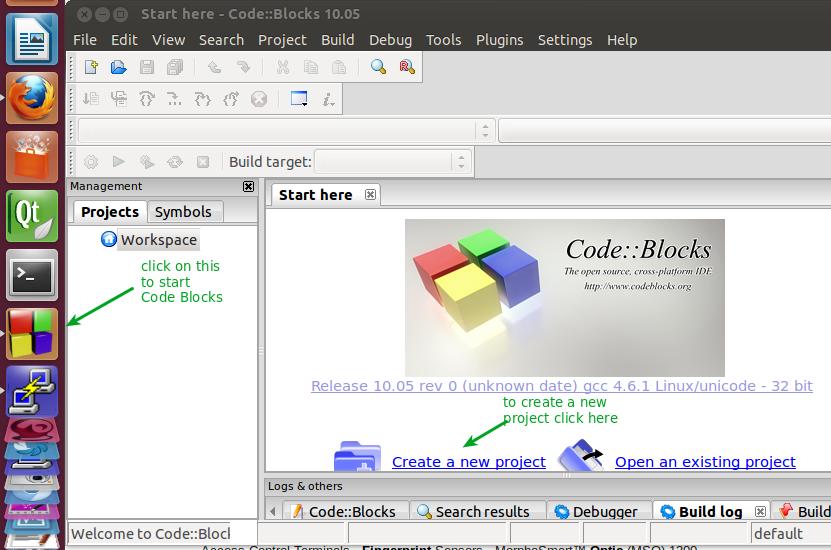 Develop applications using Code Blocks | alselectro
