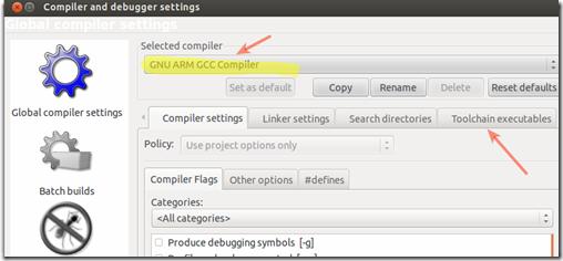 Compiler and debugger settings_045