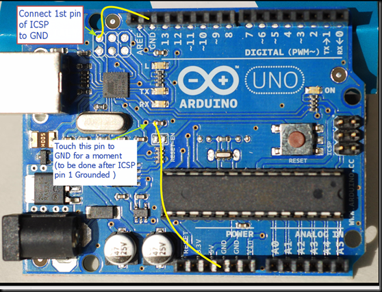 Arduino uno upgrading u usb firmware using avrs flip