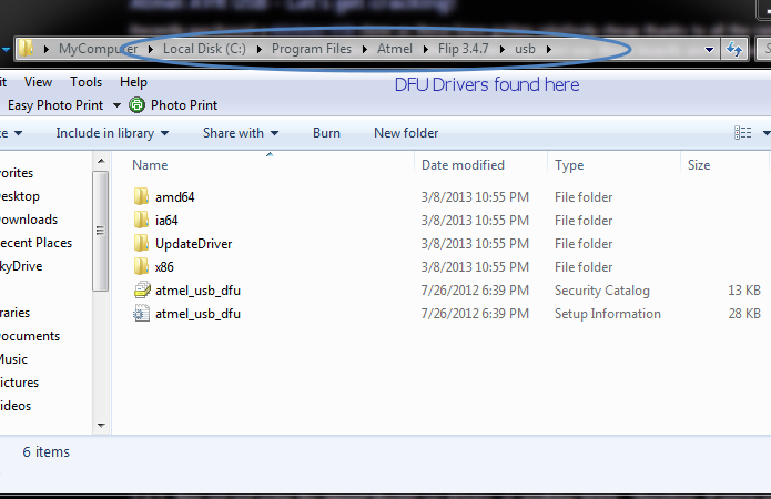 Arduino uno upgrading u usb firmware using avrs flip