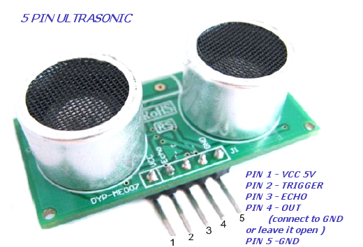Arduino Ultrasonic Sensor For Distance Measurement