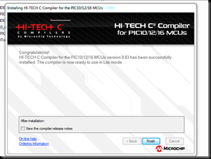 PIC Microcontroller Programming–part 1 Installing MPLAB IDE & HITECH