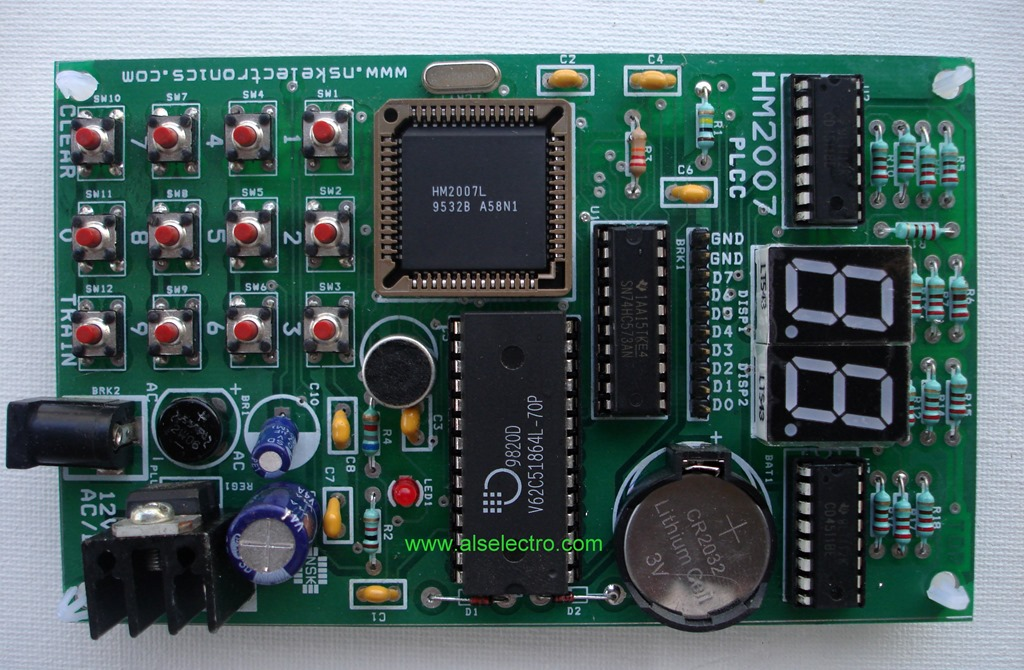 Voice Recognition board HM2007 – How to control a motor