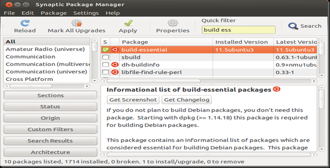 Synaptic Package Manager _013