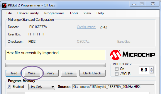 PIC BOOT LOADER–No Programmer required to fuse Hex file | alselectro