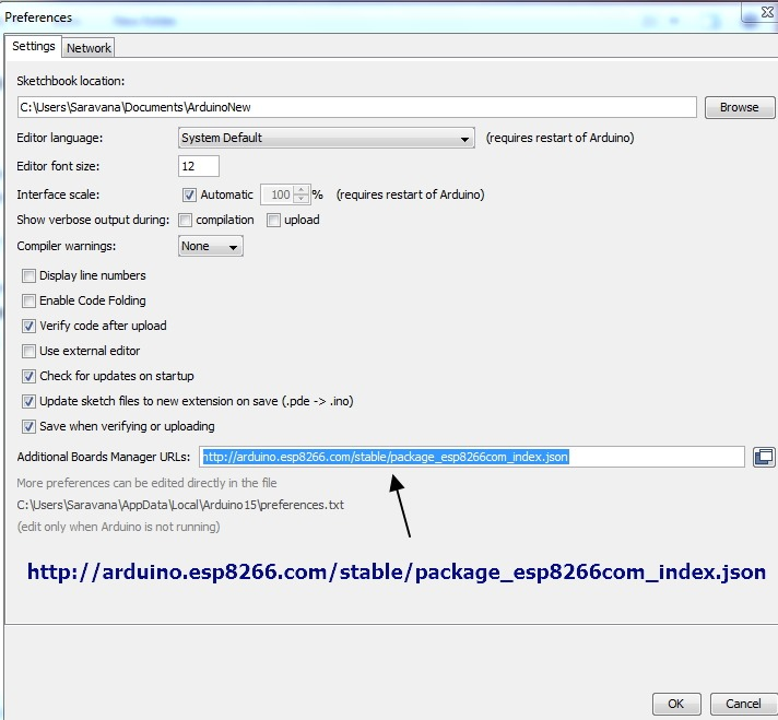 ESP8266 – Upload code from Arduino IDE – No Arduino Board