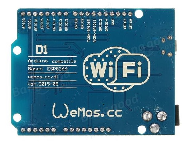 WiFi ESP8266 Development Board WEMOS D1 | alselectro