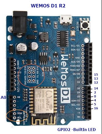 WiFi ESP8266 Development Board WEMOS D1 | alselectro